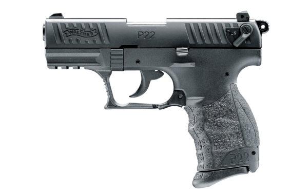 Walther P22Q Black 9mmPAK