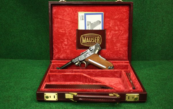 "*Rarität* Mauser P08 ""Cartridge Counter"" 9mm Luger"